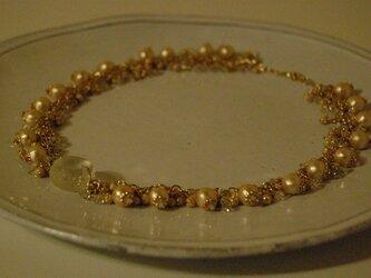 マカロンの結晶ネックレス1の画像