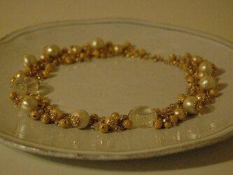 マカロンの結晶ネックレス2の画像