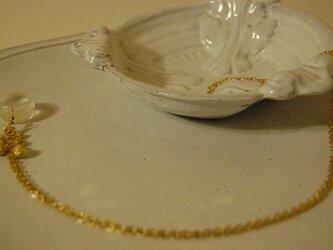 マカロンの結晶ネックレス4の画像