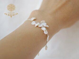 淡水花びらパール*Braceletの画像