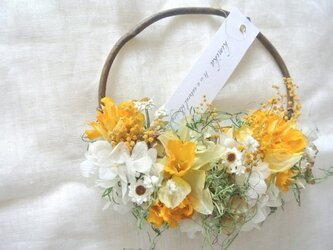 hanging basket wreath.naの画像