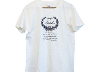 【送料無料】hookTEE/ベーシックTシャツの画像