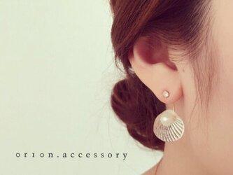shell charm pierce.の画像