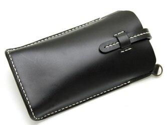 iphone5ケース ブラック(ベルト)の画像