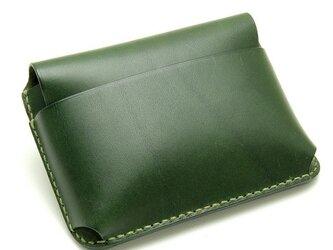 【受注生産】カードケース(名刺入れ) グリーンの画像