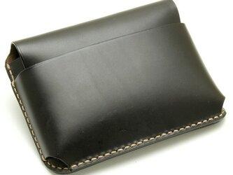 【受注生産】カードケース(名刺入れ) ブラックの画像