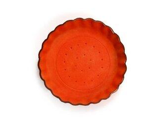 Orange ビスケット ) アクセサリー 小物 本革 トレイの画像