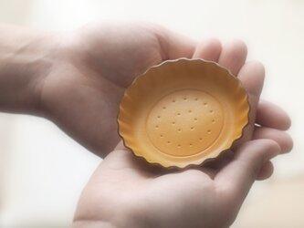 Mustard ビスケット ) アクセサリー 小物 本革 トレイの画像