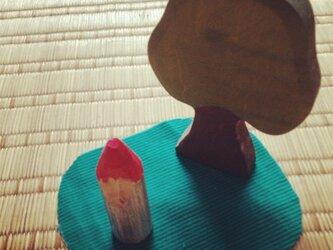 木のこびと 赤×青(小)の画像