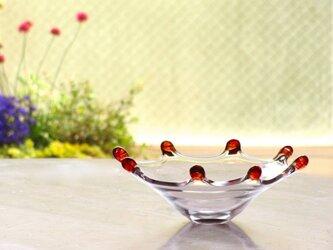 レッドリップ皿の画像