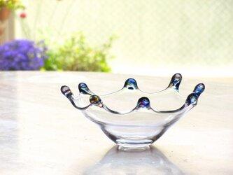 ブルーリップ皿の画像