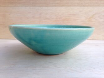 五寸鉢-水色-の画像