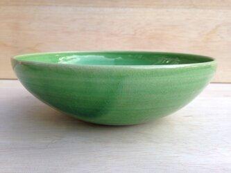 5寸鉢-緑-の画像
