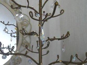 スワロフスキーのゴールドツリーの画像