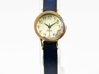 夜更けの月腕時計Sレモンの画像