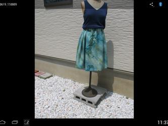 清々しいスカート  1点品の画像