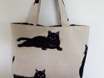 黒猫トートの画像