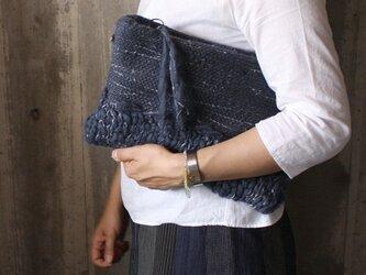 Knit woven Bagの画像