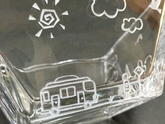 【街並み】角深皿の画像