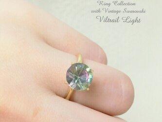 Vintage Swarovski Ring 2の画像