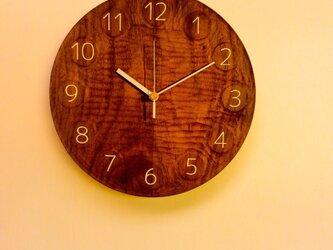 【受注製作品】wall clock BWの画像