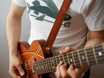 ギターストラップ30 名入れ【刻印】の画像
