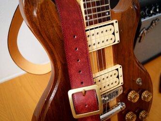 ギターストラップ40 名入れ【刻印】の画像