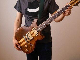 ギターストラップ50 名入れ【刻印】の画像