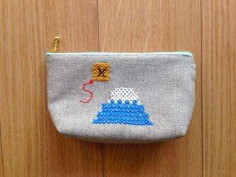 ポーチ 富士山の画像