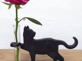 泥棒猫の一輪挿しminiの画像