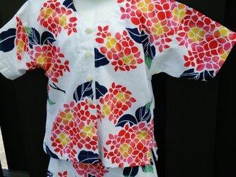 「K様オーダー品」魚河岸シャツ(100サイズ)の画像