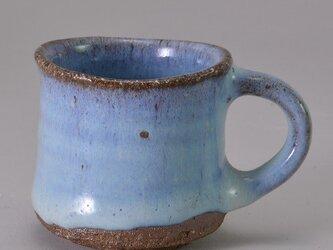 デミタスカップ[斑碧](まだらあお)の画像
