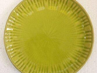 5寸皿-HANABI-黄の画像