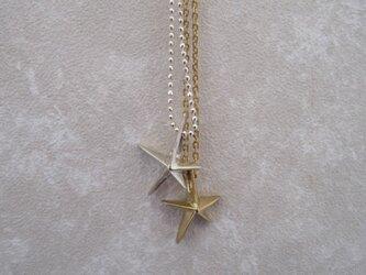 星のネックレスの画像