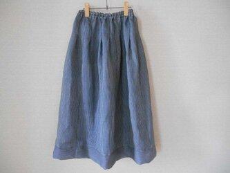 夏着物涼やかスカートの画像