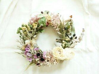 涼しげな wreathの画像