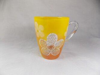 マグカップ・もこもこお花のレースOrYの画像