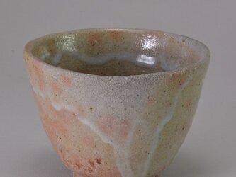 煎茶碗  粉引きフリーカップの画像