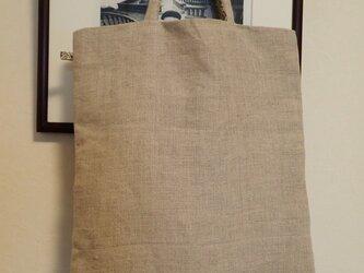 トートバッグ その6 リネンのベージュの画像