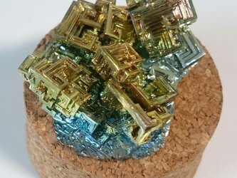 特選ビスマス人工結晶の画像