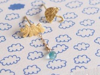【個数限定】 Cloud x Umbrella ピアスの画像