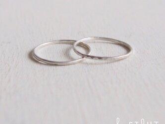 【再販】- Silver - The 2 Ringsの画像