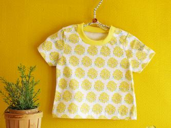 baby Tシャツ:アジサイ(きいろ)の画像