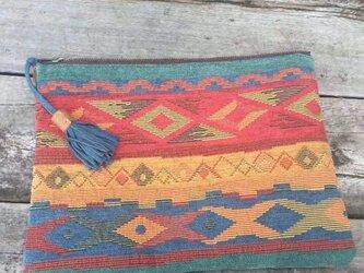 Crutch Bag(blue)の画像