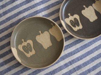 ピーマンの小皿(グリーングレー)の画像