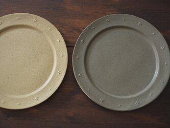 リムのお皿(グリーングレー)の画像