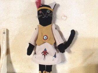 インディアン catの画像