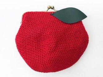 りんごちゃんポーチの画像