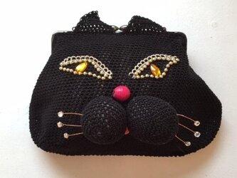 黒猫 ミニバッグの画像