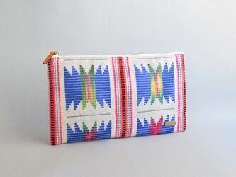 ネパール刺繍クラッチバッグ(一点物)の画像